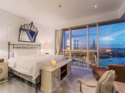 For SaleCondoRama3 (Riverside),Satupadit : Sale The Pano Rama 3, beautiful decoration, 3 bedrooms, high floor, river view.