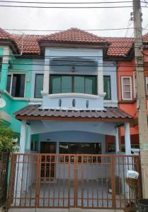 For SaleTownhouseNawamin, Ramindra : Urgent sale !! Townhouse Village Jinda Town 1.79 million baht, ready to move in.