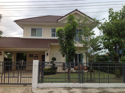 ขายบ้านมีนบุรี-ร่มเกล้า : ขายบ้าน หมู่บ้าน Perfect Place *พร้อมผู้เช่า* ซ.รามคำแหง 164 Private Zone 75 ตร.วา 3 ห้องนอน 3 ห้องน้ำ