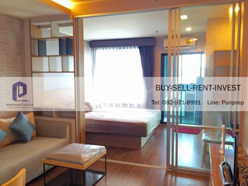 For SaleCondoRama3 (Riverside),Satupadit : Condo for sale at U Delight Residence Riverfront Rama 3, 17th floor, river view, 1 bedroom 3.6 million