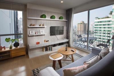 เช่าคอนโดสุขุมวิท อโศก ทองหล่อ : For Rent HQ Thonglor (52 sqm.)