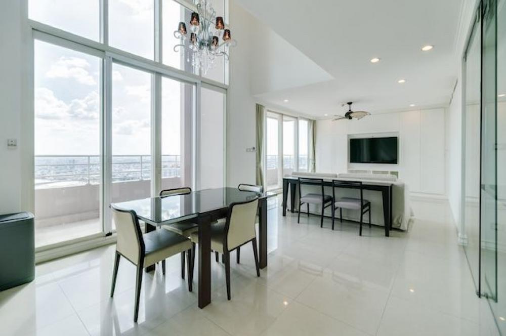 For SaleCondoWongwianyai, Charoennakor : Watermark Chaopraya River penthouse for sale 210 sqm 3 bedrooms duplex only 36.67 MB