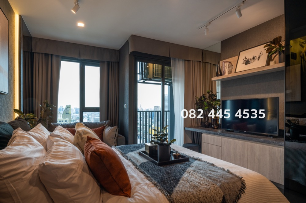 For SaleCondoLadprao, Central Ladprao : Sell at a loss from the contract price | Life Ladprao Studio Room 26 sq.m. | 082 445 4535 May