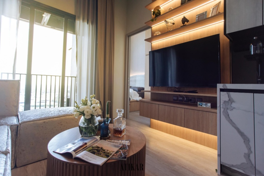 For SaleCondoOnnut, Udomsuk : M2655-Condo for sale and rent, The Line Sukhumvit 101, near BTS Punnawithi, new room. Ready to move in ++