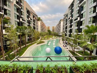 For RentCondoRangsit, Patumtani : For rent Cave Town Space, Bangkok. 2 double beds. LineID: Jet987