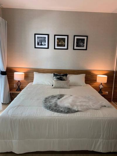 ขายคอนโดอ่อนนุช อุดมสุข : ขายห้องมุม วิวสวน คอนโด เอ สเปซ ( A Space ) สุขุมวิท 77 BTS อ่อนนุช 1 ห้องนอน ขนาด 35.47 ตรม. ตึก D ชั้น 3 ใกล้ Piccadaily