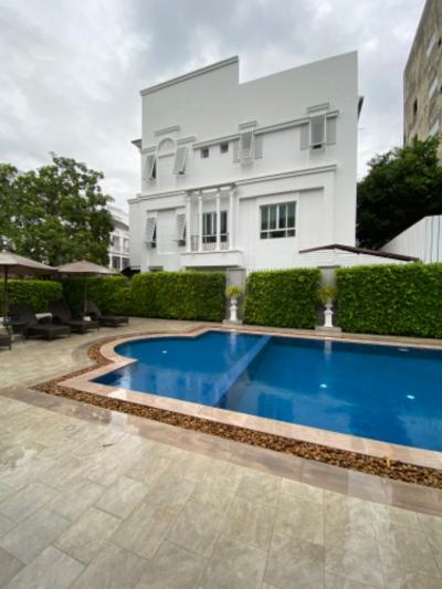 For RentTownhouseOnnut, Udomsuk : 3 Bedroom Townhouse for rent in Leon Sukhumvit 62, Bang Chak, Bangkok near BTS