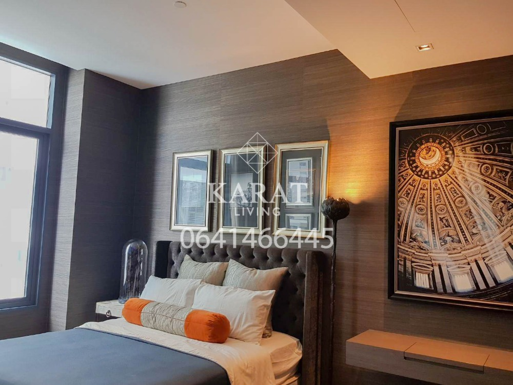For RentCondoSukhumvit, Asoke, Thonglor : THE DIPLOMAT 39 for rent best of project beautiful decor 50,000 THB 54 sqm FL.23 fully furnished K.Bee 064146-6445 (R5652)