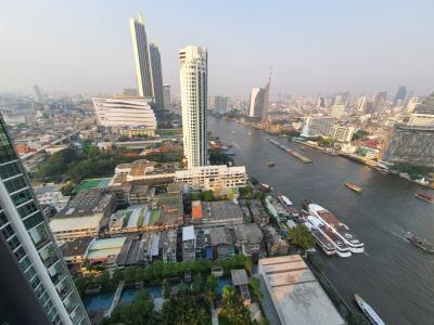 เช่าคอนโดวงเวียนใหญ่ เจริญนคร : Condominium the river for rent