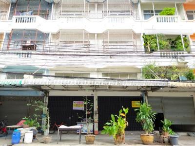 ขายตึกแถว อาคารพาณิชย์นวมินทร์ รามอินทรา : ขายถูก อาคารพาณิชย์ 2 คูหา สายไหม 78