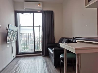 For RentCondoPattanakan, Srinakarin : 👉For Rent # RichPark @ TripleStation # Condo Ready to move in # Near Airport Link Hua Mak 250 m # # 28 sqm, 20th floor
