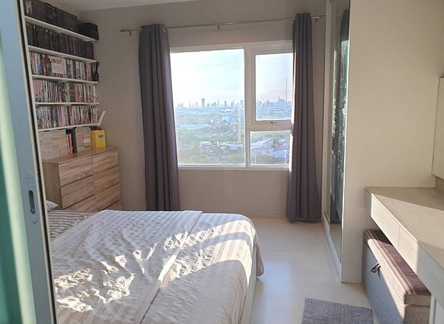 For SaleCondoSamrong, Samut Prakan : Condo for sale Aspire Erawan Aspire Erawan, size 29.77 sq m, 17th floor, building B