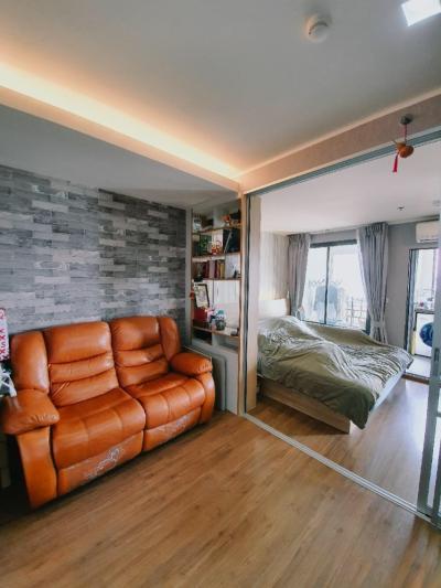 For SaleCondoRama3 (Riverside),Satupadit : 0608-B😍 For SELL ขาย 1 ห้องนอน 🚄ใกล้ BRT วัดปริวาส เพียง 5 นาที🏢U Delight Residence Riverfront  พื้นที่:34.00 ตร.ม. 💲ราคาขาย:3,000,000.-บาท 📞นัดชมห้อง:099-5919653 ✅LineID:@sureresidence
