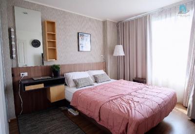 For RentCondoRamkhamhaeng, Hua Mak : ✅ Condo for rent ✅ U Delight @ Huamark Station, fully furnished, very beautiful room, still available **