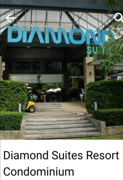 For SaleCondoPattaya, Bangsaen, Chonburi : Sell at a loss, Condo Diamond Sweet Resort Pattaya, selling only 1.45 million, no more at this price.
