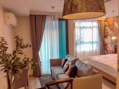 For RentCondoRatchadapisek, Huaikwang, Suttisan : 4063 | Maestro 19 Ratchada 19 - Vipha for rent, size 33 sqm.