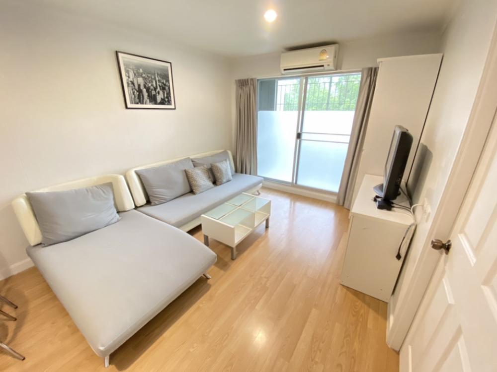 For RentCondoRamkhamhaeng, Hua Mak : Lumpini Ville Ramkhamhaeng 26 Bed blocks 39 sqm Building A, 1st floor, East 8,500 baht 064-959-8900
