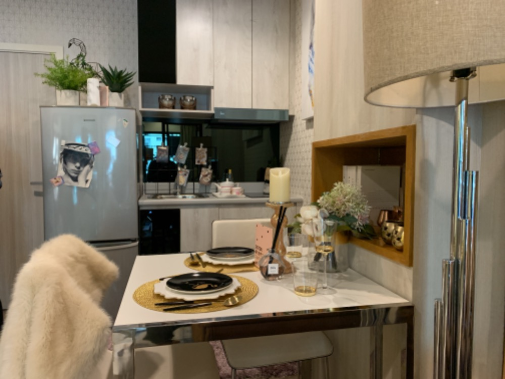 For SaleCondoVipawadee, Don Mueang, Lak Si : Rich Park Terminal with a comfortable condo with 9 free items