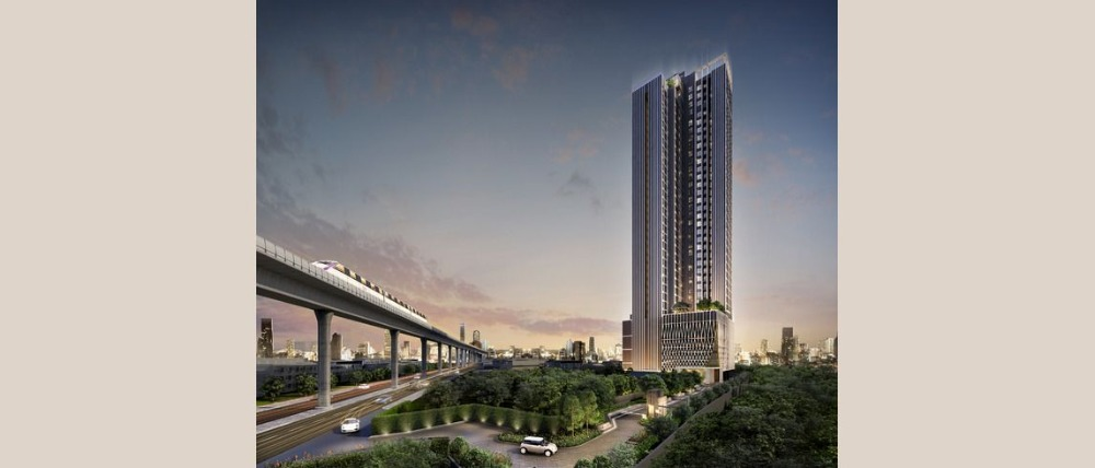Sale DownCondoBang Sue, Wong Sawang : Selling down payment at par value The Privacy Taopoon Interchange ready to transfer at the end of 64