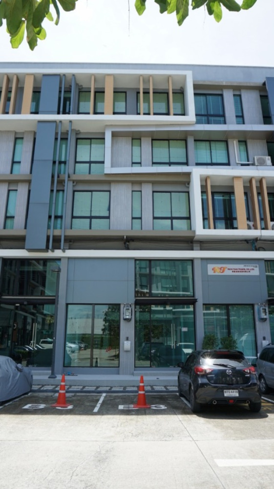 For RentHome OfficeKaset Nawamin,Ladplakao : BS487 Home office for rent, 4.5 floors, Nirvana @ Work project. Ladprao-Kaset Nawamin