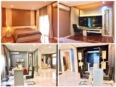 For SaleHouseLadkrabang, Suwannaphum Airport : Sale Perfect Masterpiece Rama 9, 122 sq.w. Motorway Road, Prawet, near the expressway.