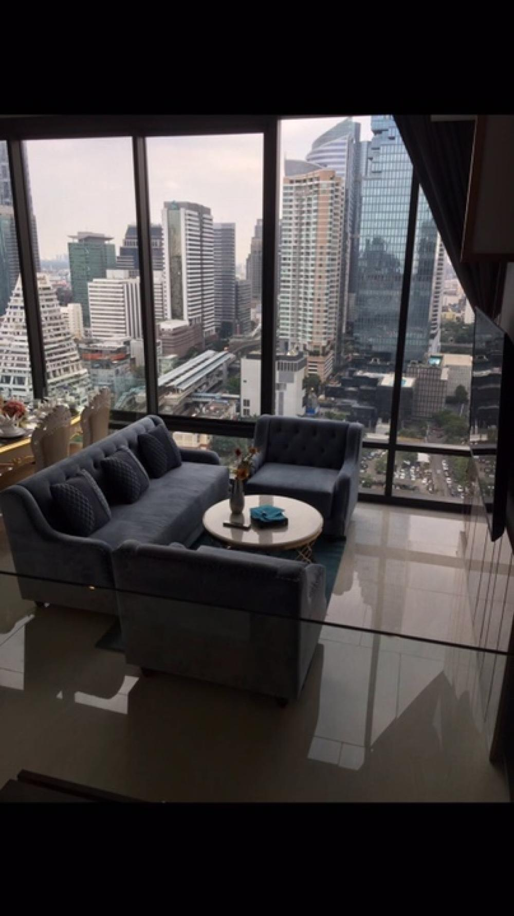 For RentCondoSiam Paragon ,Chulalongkorn,Samyan : For rent Ashton Silom 2 bedrooms, 2 bathrooms, complete electrical appliances, ready to move in, please contact 0654649497.