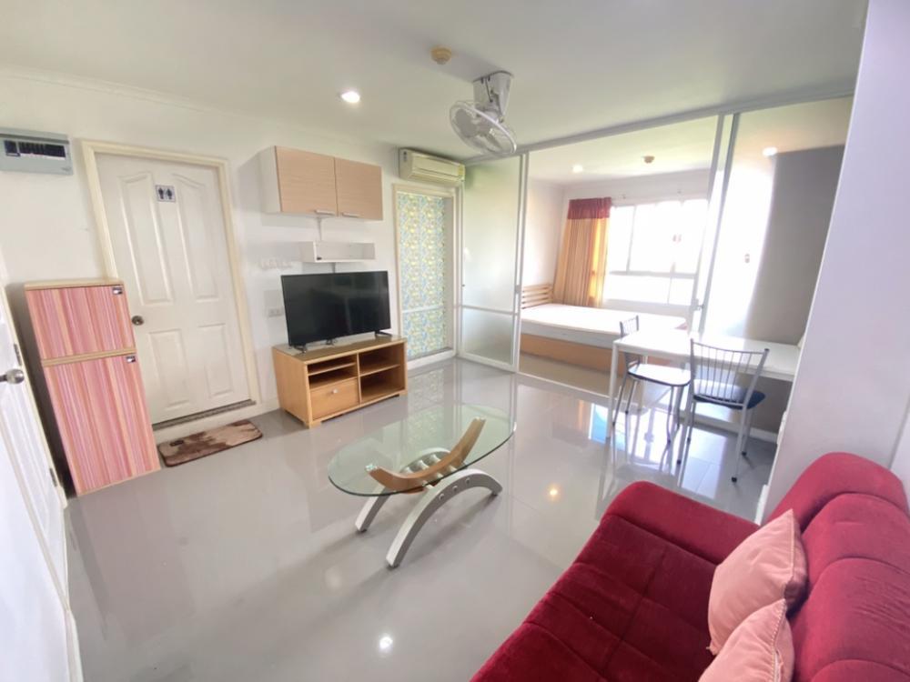 For RentCondoRamkhamhaeng, Hua Mak : Lumpini Ville Ramkhamhaeng 26 32 sqm 8th floor Building B 094-549-4104