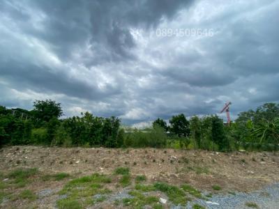 For SaleLandBangbuathong, Sainoi : Land for sale in Nonthaburi, Tha It Soi 12, size 1 rai, near Ratchaphruek Road, near the train.