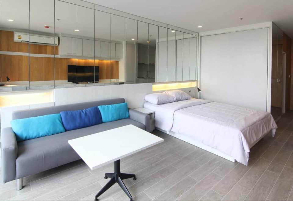 For RentCondoSathorn, Narathiwat : For rent Noble Revo Silom, NOBLE REVO SILOM, high floor, luxury room, beautiful view