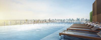 For SaleCondoSukhumvit, Asoke, Thonglor : The Esse Asoke, high floor, open view, fully furnished, 36.89 sq m. East side