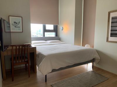 เช่าคอนโดสะพานควาย จตุจักร : The Line พหล-ประดิพัทธ์ 2 ห้องนอน มาใหม่จ้า