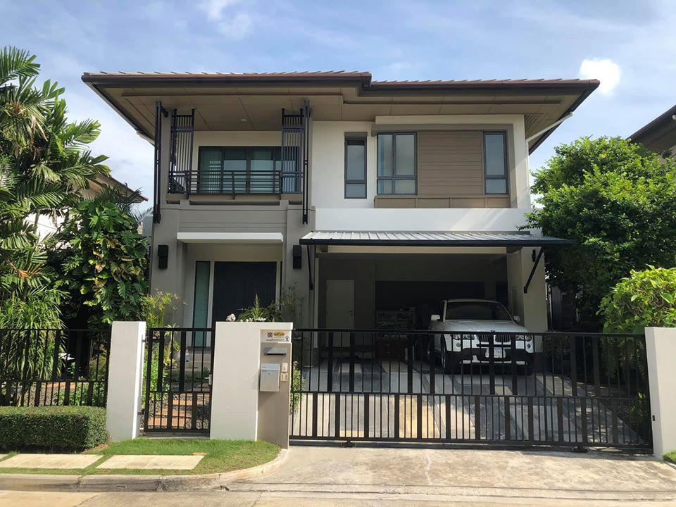 For SaleHousePinklao, Charansanitwong : House for sale Setthasiri Ratchaphruek Charan