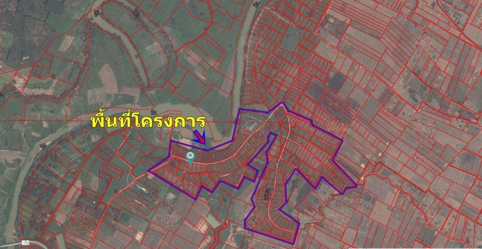 For SaleLandChiang Mai, Chiang Rai : Land for sale in Chiang Rai, 383 rai for project development (attached property)