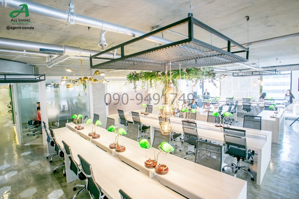 For RentOfficeSukhumvit, Asoke, Thonglor : Rental space for working in the heart of Asoke, price 24,000 baht / year