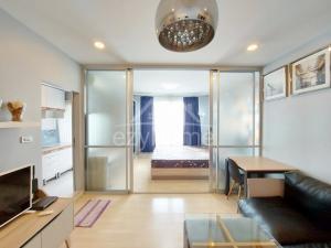 For RentCondoRamkhamhaeng Nida, Seri Thai : Condo for rent, beautiful room, D Condo Ramkhamhaeng 64, next to Ramkhamhaeng Road Travel the early speed boat