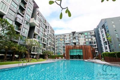 For RentCondoRamkhamhaeng, Hua Mak : ให้เช่าคอนโด Living Nest ลีฟวิ่ง เนสท์ รามคำแหง ตึก B ขนาด 26 ตรม. / 8,000 B.