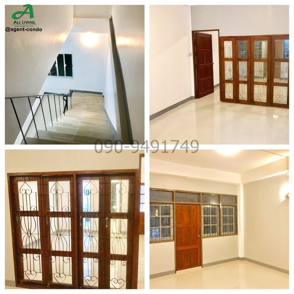 For RentShophouseWongwianyai, Charoennakor : Rent a 3-storey commercial building, good condition, good location, from Soi Charoen Nakhon