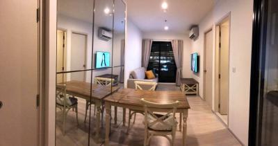 For SaleCondoRama9, RCA, Petchaburi : +++ Urgent sale +++ Life Asoke ** 2 bedrooms, 55.4 sq m, fully furnished.