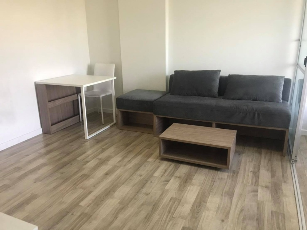 For SaleCondoLadkrabang, Suwannaphum Airport : NAS-008: Sale D Condo On Nut - Rama 9, Building A, 5th floor, size 29.95 square meters.