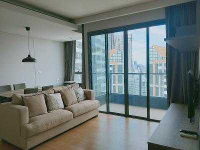 For RentCondoSukhumvit, Asoke, Thonglor : For rent Lumpini Sukhumvit 24 size 60 sq.m. ห้องวิวสวย ราคาเพียง 45,000 thb / m