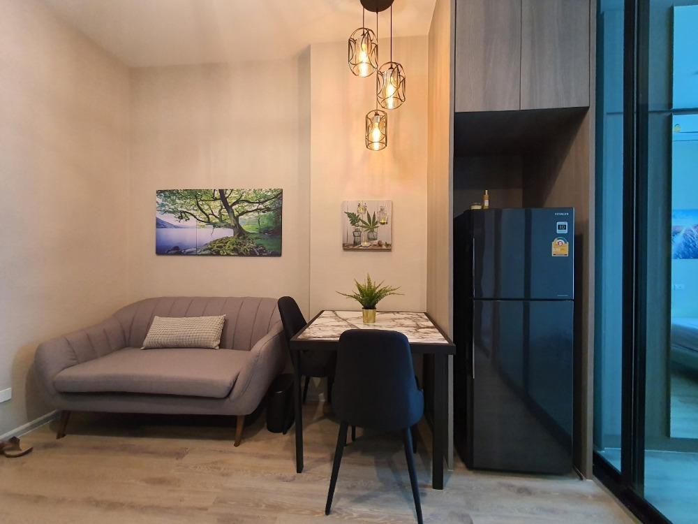 เช่าคอนโดรามคำแหง หัวหมาก : ให้เช่าคอนโดพร้อมอยู่ ไนท์บริดจ์ คอลลาจ รามคำแหง One Bedroom Plus วิวสระว่ายน้ำ