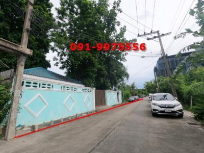 For SaleLandOnnut, Udomsuk : Land and house for sale, area 389 sq.wa., Soi On Nut 62, near Srinuch BTS station, Srinakarin Road 300 meters.