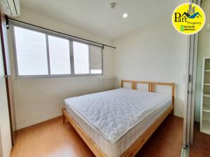 For SaleCondoBangna, Lasalle, Bearing : Sale !! 🔥 Corner room, Lumpini Mega City Bangna, size 23 sqm. * Corner room, 27th floor, ready to sell immediately