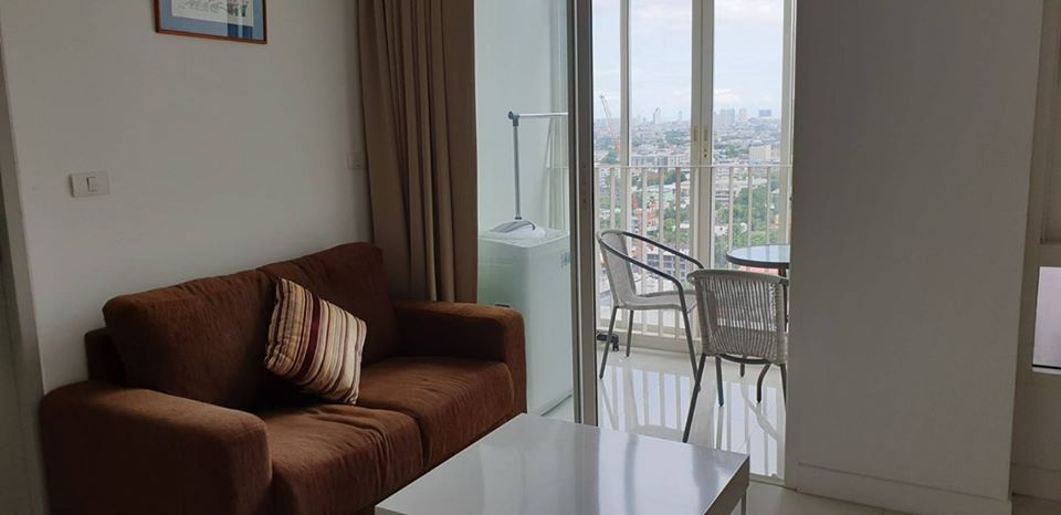 For RentCondoOnnut, Udomsuk : For Rent Ideo Verve Sukhumvit 0 m. From BTS On Nut, spacious room, high floor, beautiful view, furniture and appliances.