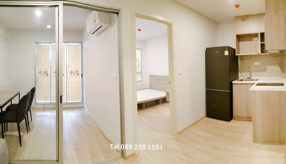 For RentCondoKasetsart, Ratchayothin : For Rent !!! Elio Del Moss Phaholyothin 34, 1 bedroom, new room, special price