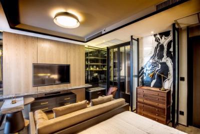 ขายคอนโดสยาม จุฬา สามย่าน : ขายถูก 1 ห้องนอน Ashton Chula Silom ห้องแต่งสวย