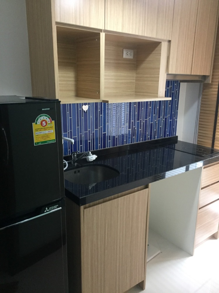 For RentCondoOnnut, Udomsuk : Fully furnished condo For Rent / Sale **Chateau in Town Soi Sukhumvit 62/1 Phase 2**-30 sq.m. 5th floor