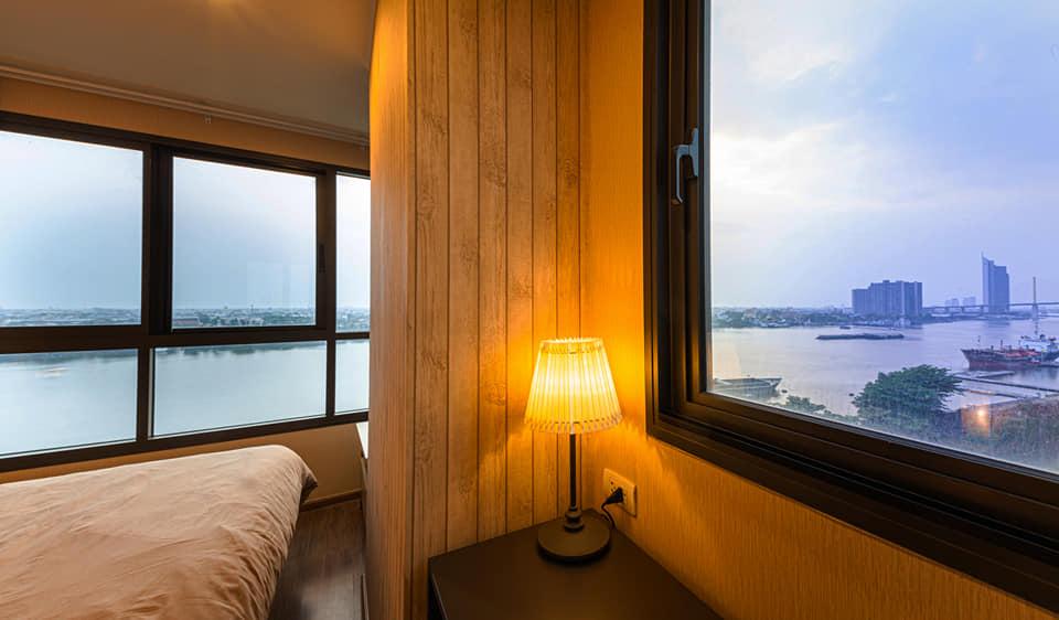 For SaleCondoRama3 (Riverside),Satupadit : Full river view, very beautiful, U Delight Residence Rama 3.
