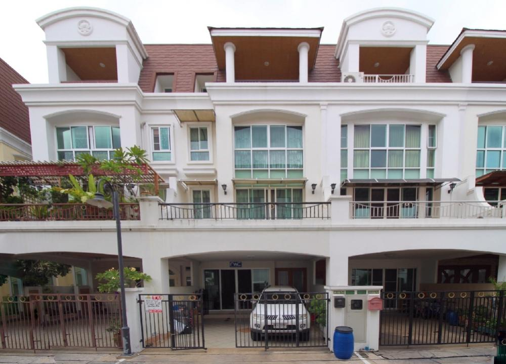 For SaleTownhouseRama3 (Riverside),Satupadit : 4-storey townhome for sale, Patra Villa 4, Chalerm Nimit 6, Rama III-Sathon, Main Road, 37.2 sq.wa.