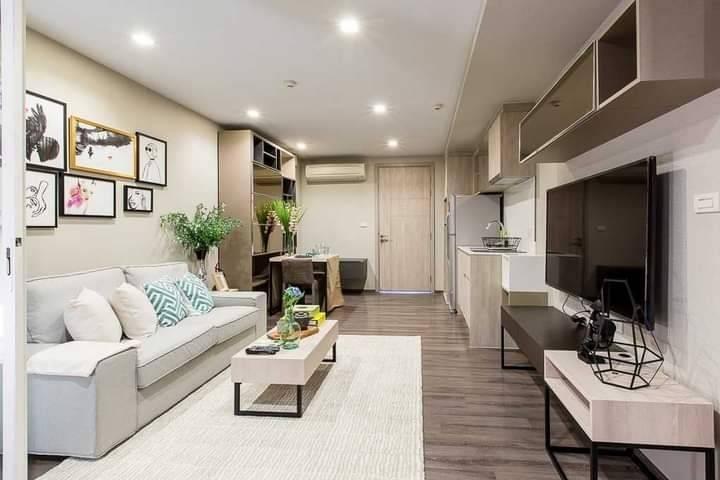 For RentCondoOnnut, Udomsuk : +++ Urgent rental +++ Beautiful room +++ SARI by Sansiri Sukhumvit64 * 1 bedroom 42.05 sq m, 8th floor, beautiful decoration, spacious, ready to move in